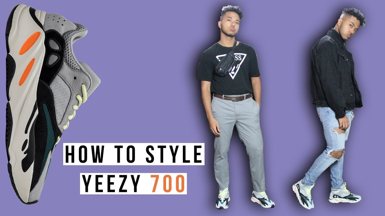 How To Style Yeezy Wave Runner 700