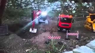 RC Construction Equipment work