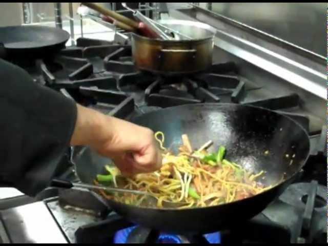 Chef Bikram Vaidya Stir Fries