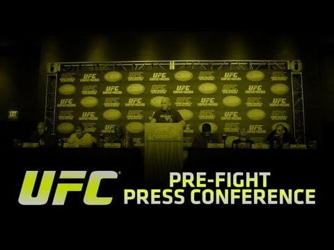 UFC 149: Faber vs Barao Pre-fight Press Conference