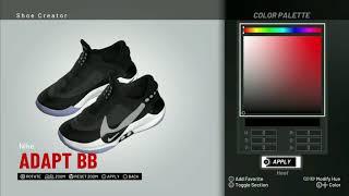 الدوري الاميركي للمحترفين 2K19 الحذاء الخالق | نايك التكيف BB