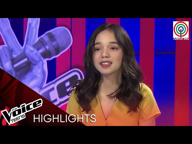 Meet Larah Sabroso from Davao City | The Voice Teens Philippines 2020
