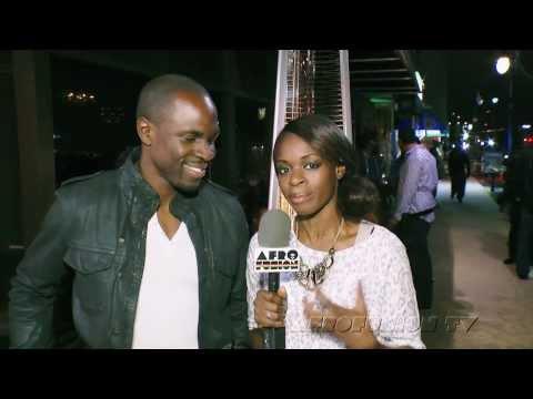 Gbenga Akinnagbe  with Afrofusion TV