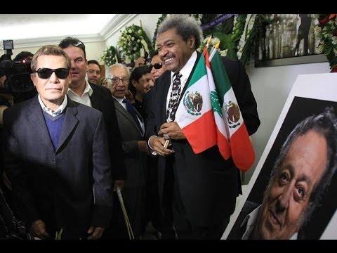 Julio César Chávez y Don King se despiden de Sulaimán