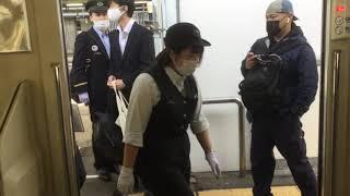 盛岡駅 JRホームからIGR線へ直通運転 滝沢行き 2021/05/31