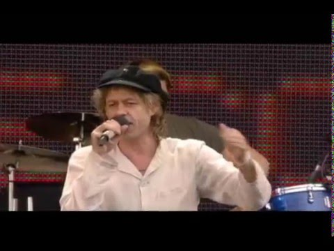 Live 8: Bob Geldof