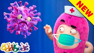 Oddbods, The Virus Fighters! | Cartoons For Kids