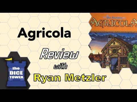 Agricola Review - with Ryan Metzler