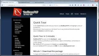 Создание собственного фреймворка. ORM библиотека RedBeanPHP. Урок 7