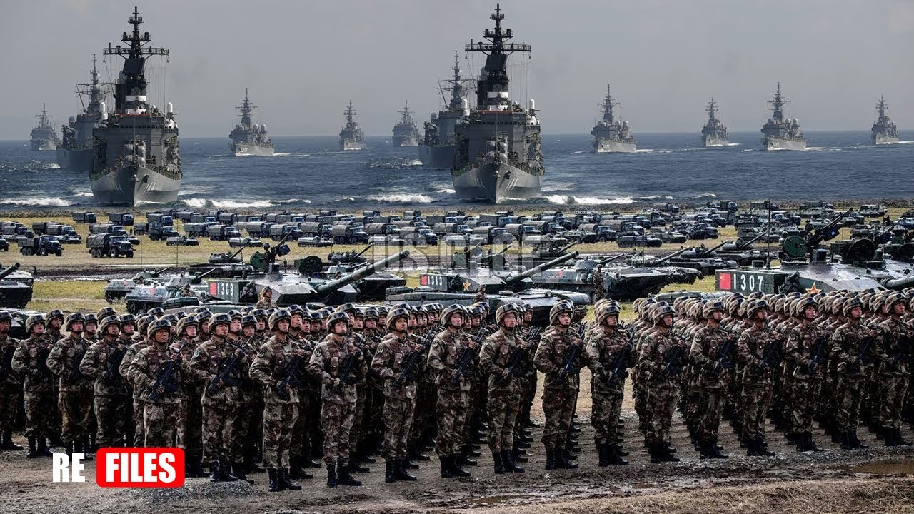 War begins (Dec 03,2020) China Urges two Million Forces,  tanks, Jets & Warships to prepare for War