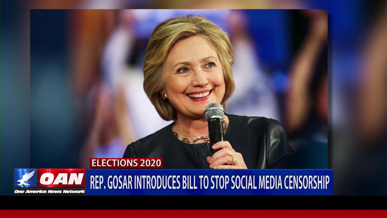 Rep. Gosar (R-Ariz.) introduces bill to stop social media censorship
