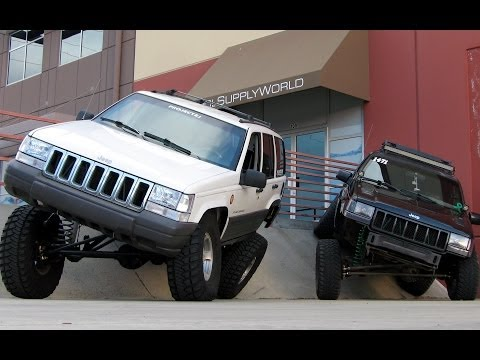 Jeep Grand Cherokee 4x4 Project ZJ Part 23 Testing New Long Arm Suspension Setups Before Rubicon