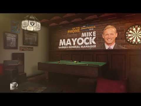 Raiders GM Mike Mayock Talks Kyler Murray & Antonio Brown w/Dan Patrick | Full Interview | 3/15/19