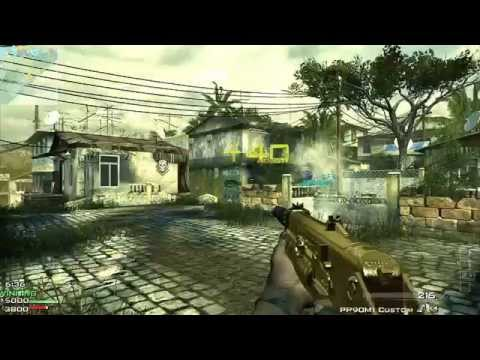 Call Of Duty MW3 Pp90 Gold