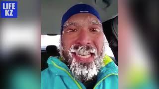 Смертельный мороз в Астане