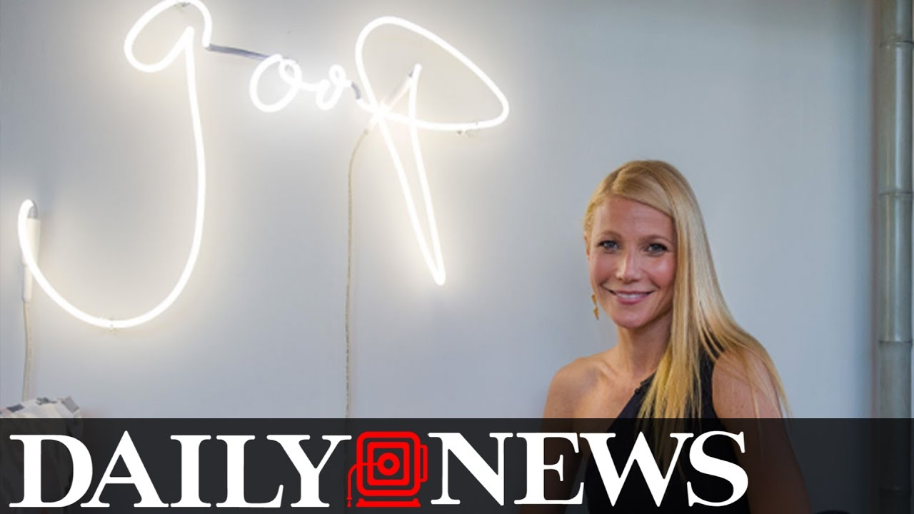 Gwyneth Paltrow Publishes Guide To Anal Sex On Goop Website
