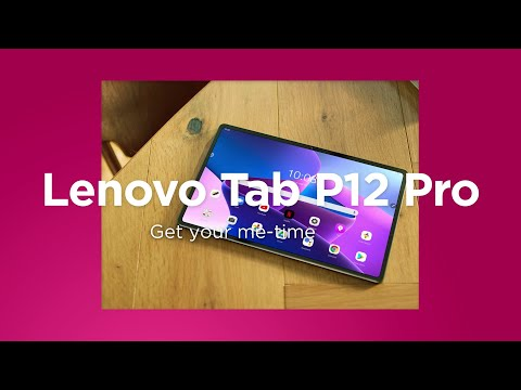 Lenovo Tab P12 Pro - Stay ahead. Entertainment at home and versatility on the go.