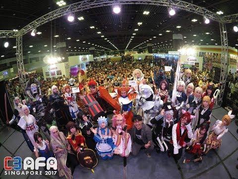 Puni goes to C3 AFA Singapore 2017 !!!