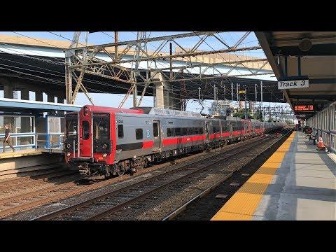 Metro-North New Haven Line Evening Rush Hour @ Bridgeport Station (7/16/19)