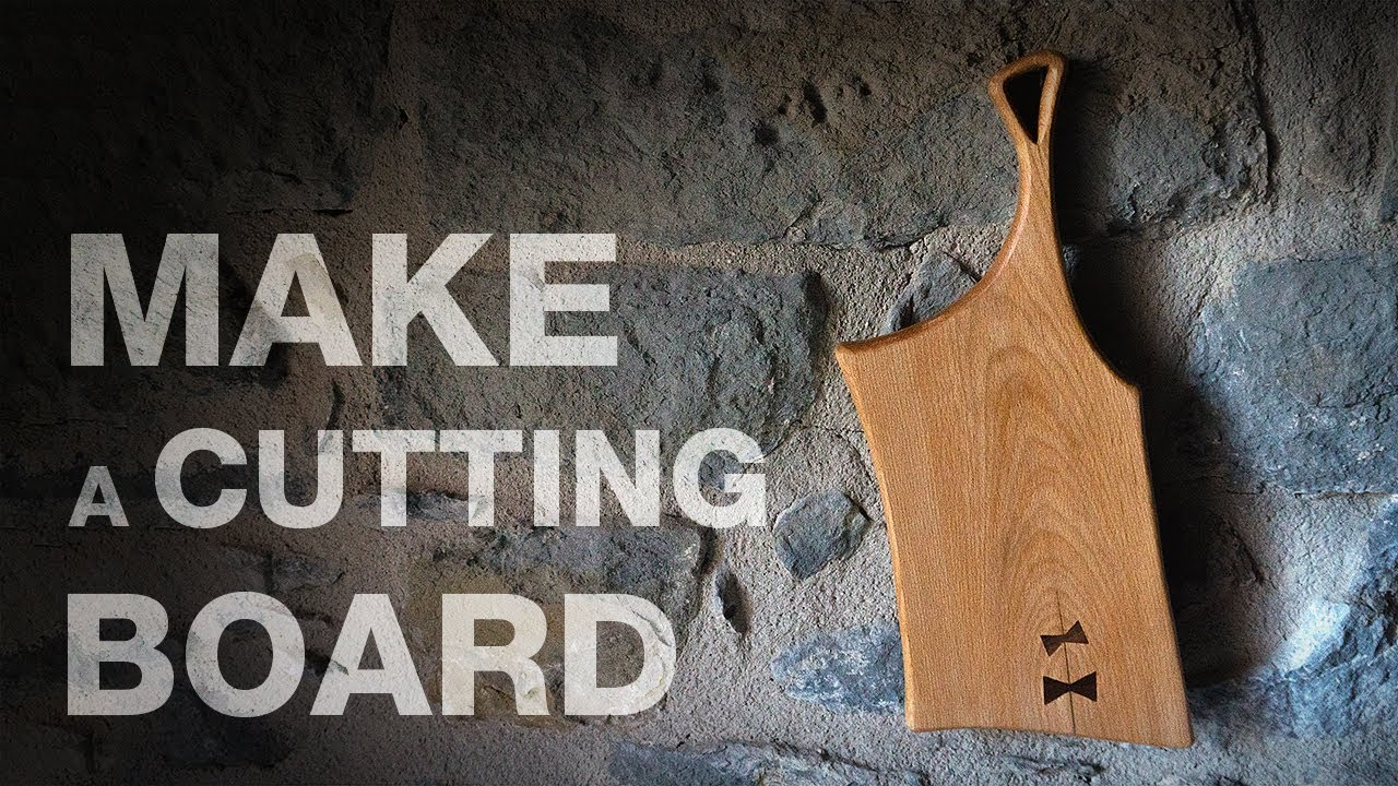 how to make a cutting board youtube