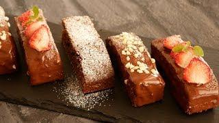 チョコたっぷりの濃厚ブラウニー♡   Delicious Rich Brownies! thumbnail