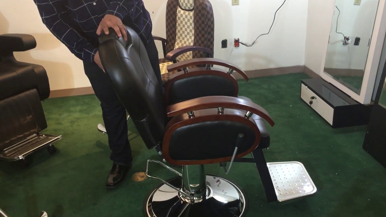 barber shop chairs foldable ergonomic salon hair dressing stations styling