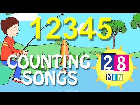 Counting Songs Mix - 28 Mins