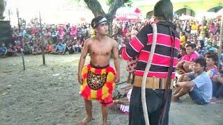 Tari Ganong dan Dagelan Lucu Jaranan  Mayangkoro Original Live Sukorejo Perak