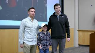 Children's Health patient meets bone marrow donors who saved his life