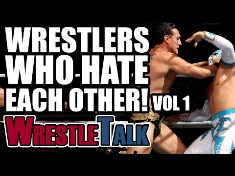 8 Wrestlers Who HATED Each Other IN REAL LIFE Vol. 1!