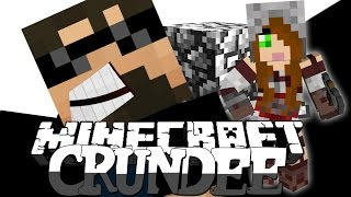 Minecraft: CRUNDEE CRAFT | GERTRUDE OR COBBLE TROLL!! [37]