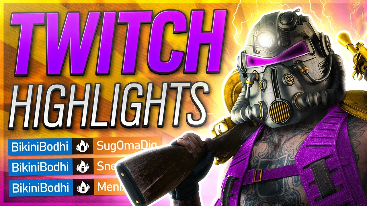 The Funniest Video I've EVER Uploaded | Twitch Highlights #1 (Rainbow Six Siege, Fallout 4 & More!)