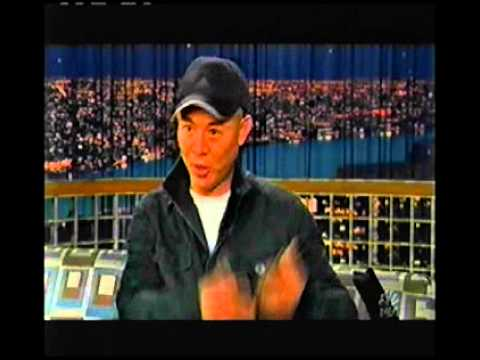Jet Li interview Connan