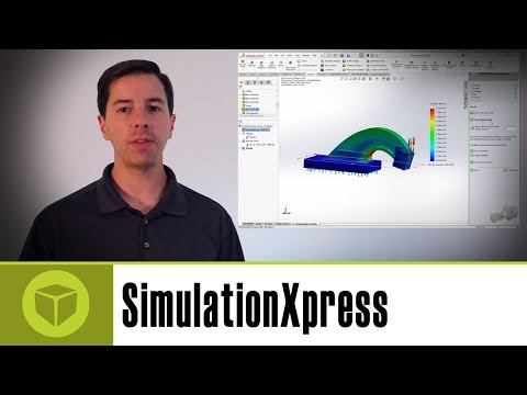 SOLIDWORKS SimulationXpress - Activation and Use