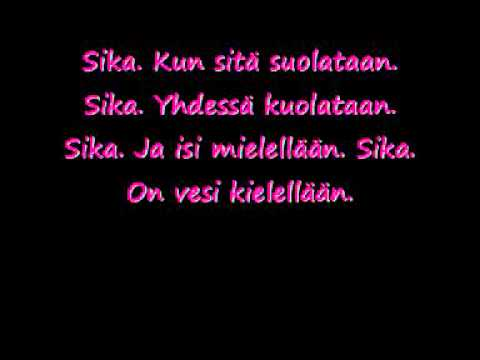 Juice Leskinen-Sika Lyrics
