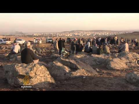 Kurdish fighters regain ground in Kobane
