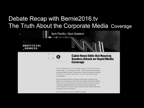 Debate Recap with Bernie2016.tv - The Truth about the ...