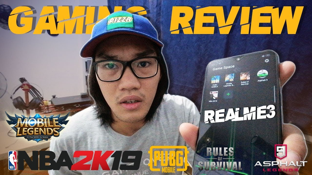 REALME 3 | Gaming Review | PUBG/ROS/ML/NBA2K19/ASPHALT9 | Kaya ba??