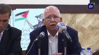حزبيون ونقابيون يطالبون بإلغاء اتفاقية الغاز وتثبيت الحقوق الأردنية في الباقورة والغمر (15-5-2019)
