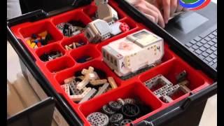 видео Конструктор Lego 9686, Технология и физика, образовательный конструктор