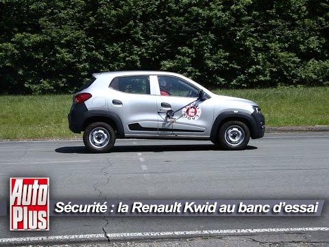 La Renault Kwid est-elle sûre ? Auto Plus l'a testée... [video]