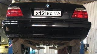 изменение выхлопа BMW е38 750il V12