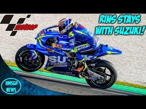 MotoGP News: Alex Rins To Remain With Suzuki! (2019/2020) Mp3