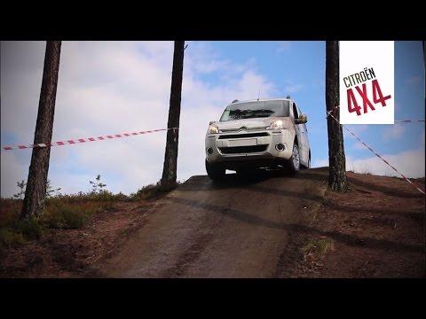 Citroën varebiler 4x4 - klar for fjellklatring - YouTube