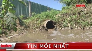 ⚡ Tin mới nhất | Bắt quả tang cơ sở phế liệu xả nước thải trực tiếp ra môi trường