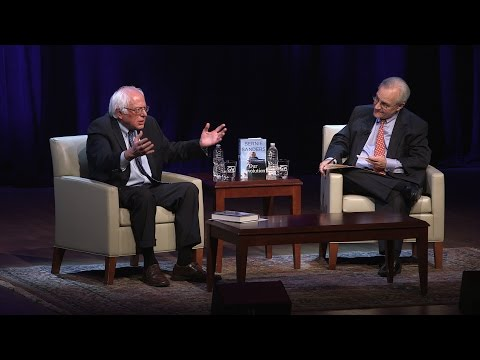 Bernie Sanders - Our Revolution: A Future to Believe in. At GW Lisner Auditorium