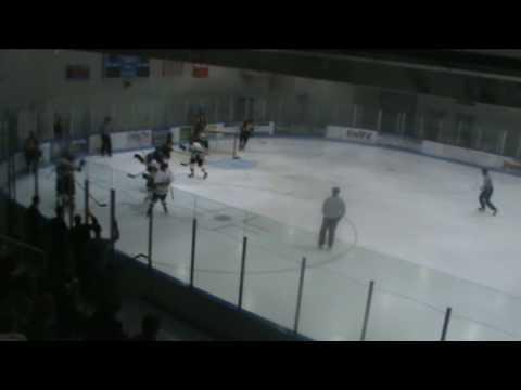 Oakland University Hockey Brett Haugh Goal vs UMD