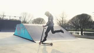 Vlog: Купил новый самокат, распаковка, тест в скейт-парке, трюки за чизбургер