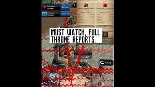 Clash Of Kings - THRONE WAR AT K2021 vs K141