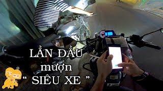 Chán FZi150 GẠ mượn BENELI 200CC chạy Xe Ôm - Xe Ôm Vlog